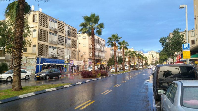 רחוב רוטשילד בת ים