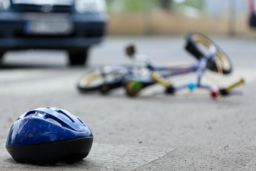 תאונת אופניים אופני ילדים