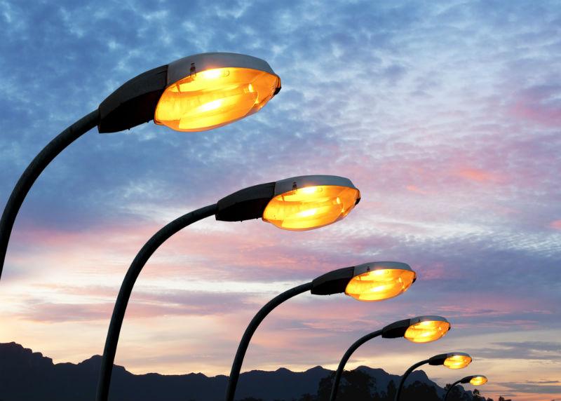 תאורת רחוב אילוסטרציה