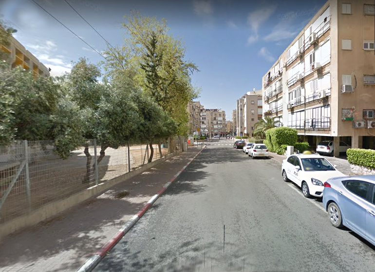 רחוב בר יהודה בת ים (צילום: גוגל)