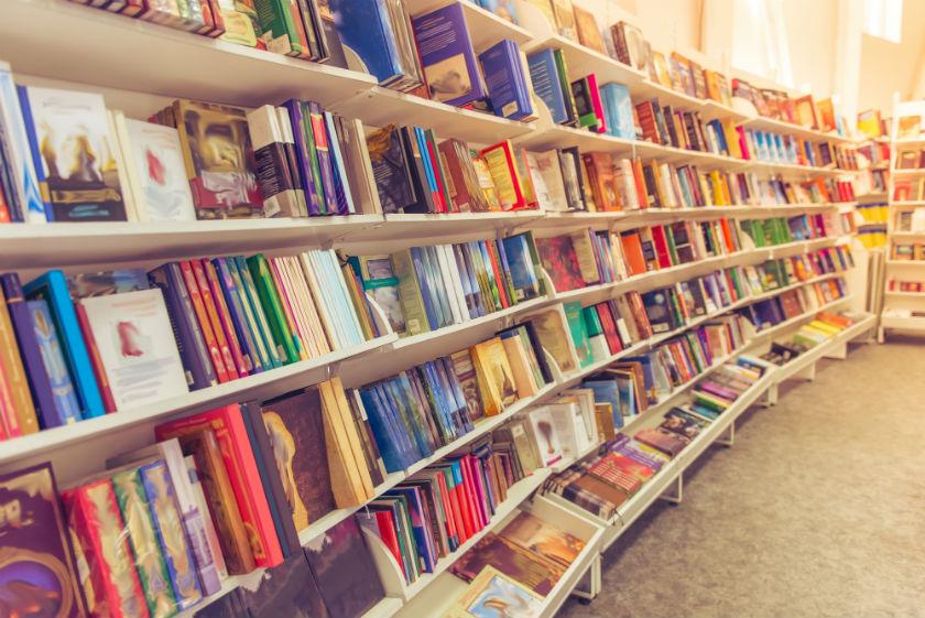 חנות ספרים ספרייה