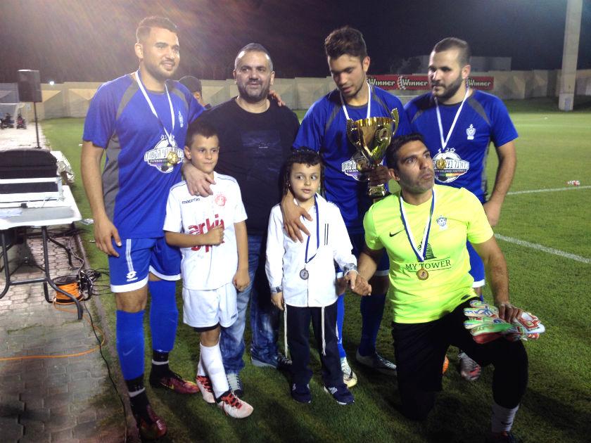 משחק כדורגל מיוחד למען הילד יעקב אבוטבול בן השבעתושבבת ים שחולה במחלת ניוון שרירים מסוג דושן,