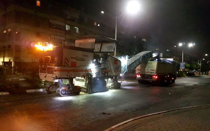 עבודות ברחוב אלי כהן (דוברות עירייה)