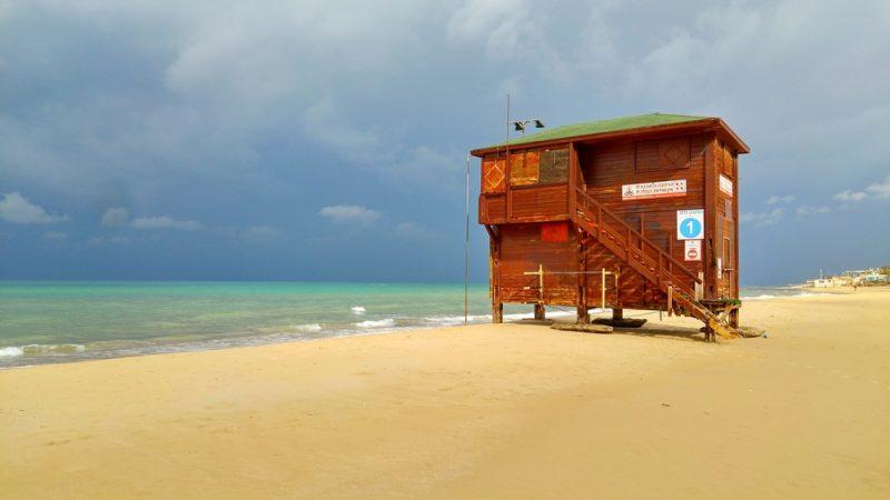 תחנת הצלה חוף בת ים