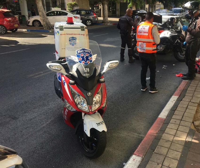 קטנוע של איחוד הצלה עזרה ראשונה