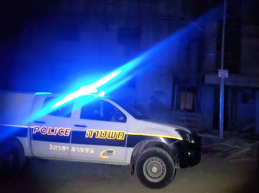 ניידת משטרה (צילום ארכיון: דוברות המשטרה)