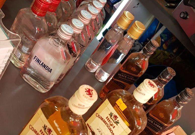 החרמת אלכוהול מזוייף (משטרת ישראל)