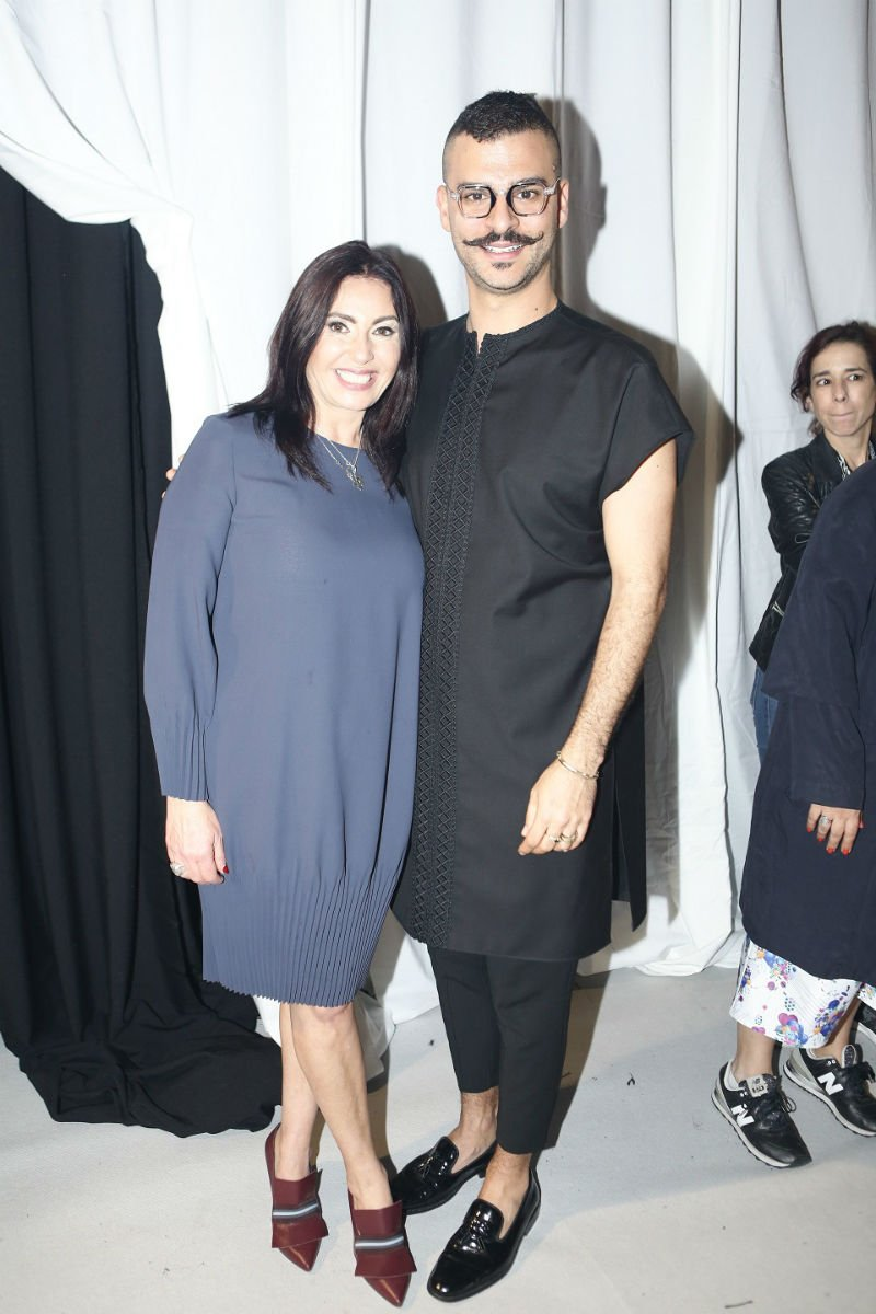 עם השרה מירי רגב (צילום: גיל כהן)