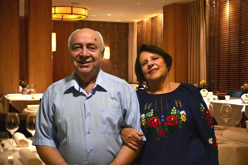 ולדימיר גלפרין ואירינה פודרג'נסקי שנהרגו בפיצוץ בלון הגז במלודובה