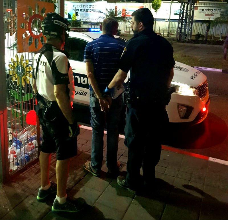 החשוד נעצר