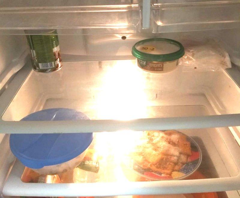 """המקרר הריק של לאה. """"אני כבר לא יודעת מה לעשות"""""""