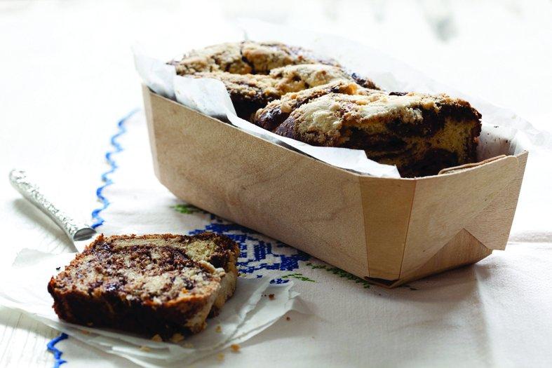עוגת שמרים שוקולד (צילום: שמרית רז)