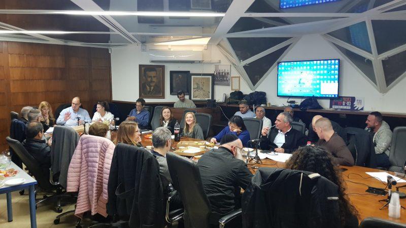 ישיבת מועצת העיר בימים אחרים ונטולי קורונה