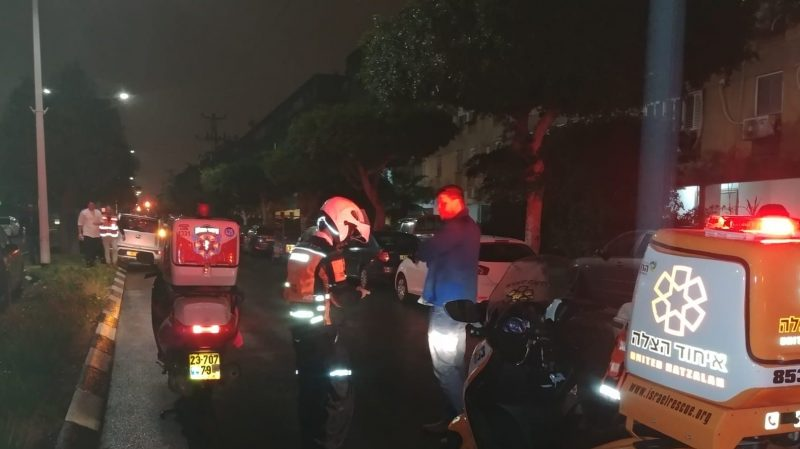התאונה באלי כהן, הנפגע במצב קל (דוברות איחוד והצלה)