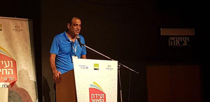 מזכיר סניף תל אביב של ארגון המורים, שרון גול. צילום: השקמה