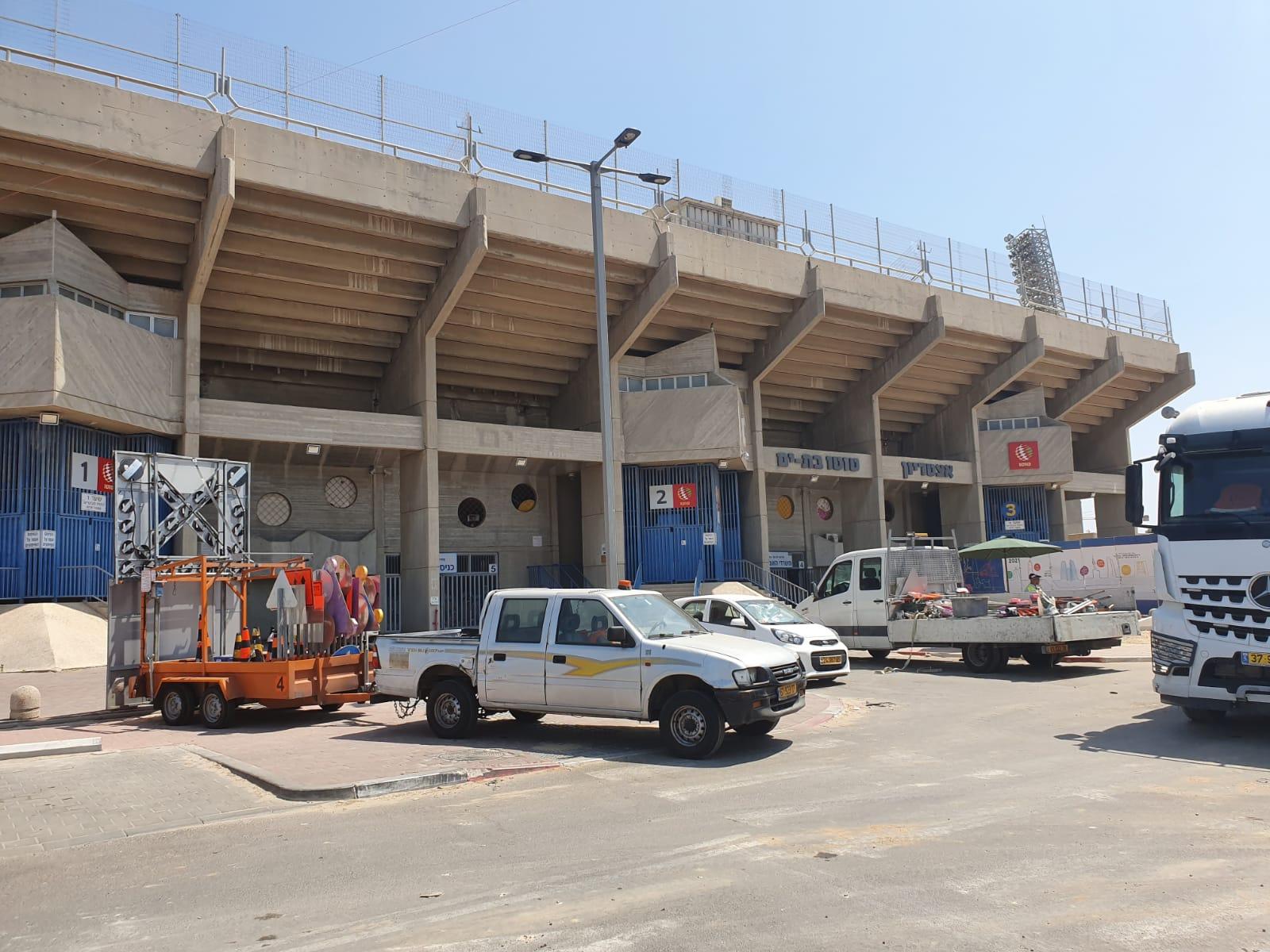 האצטדיון העירוני של בת ים. צילום: אביחי חיים כתב השקמה