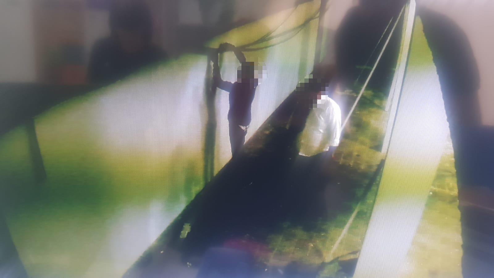 צילום החשודים מתוך מצלמות האבטחה של בית הספר