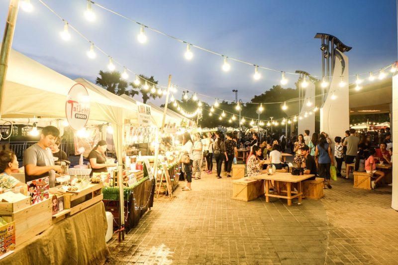 פסטיבל אוכל, אילוסטרציה (צילום: shutterstock Rainbow Bkk)