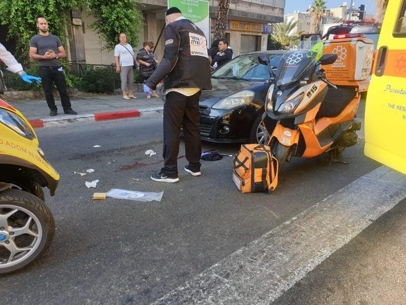 תאונת דרכים (צילום: דוברות איחוד והצלה)