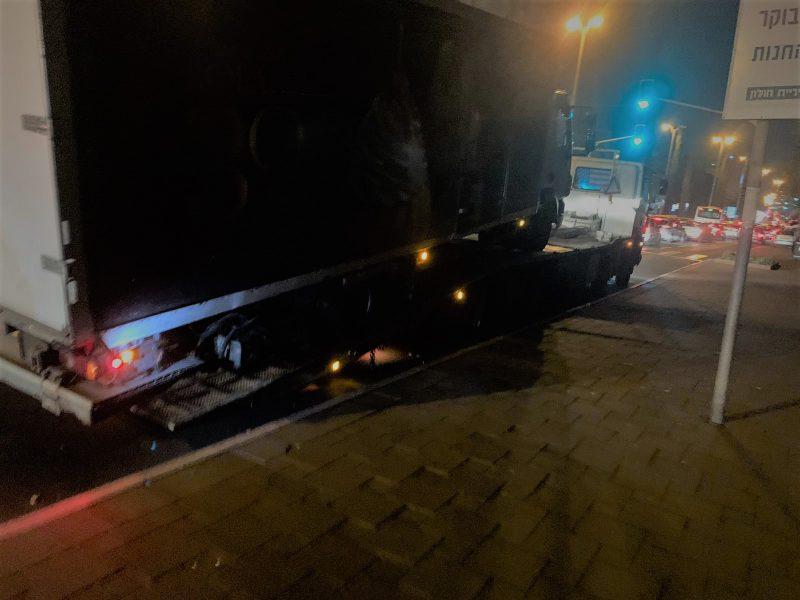 משאית שהושבתה