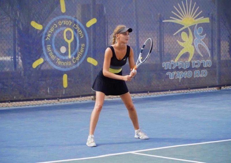 שלי ברזניאק אלופת ישראל בטניס