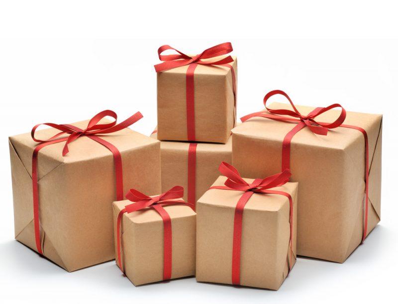 מתנה חבילת שי אילוסטרציה