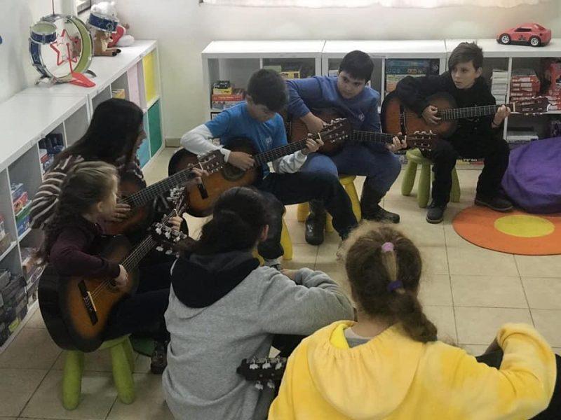 "לימודי גיטרה בביה""ס הנשיא"