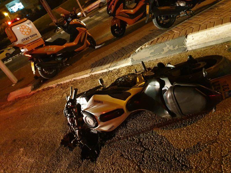 תאונת אופנוע בבת ים