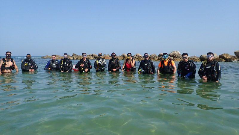 צפו בתמונות: העולם המופלא מתחת לחוף הסלע שגילו הצוללנים
