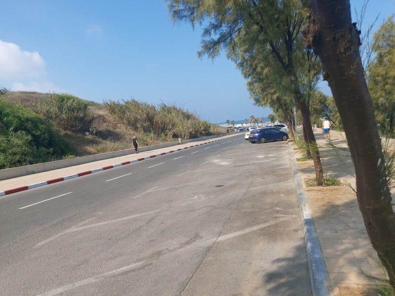 חניון חוף תאיו