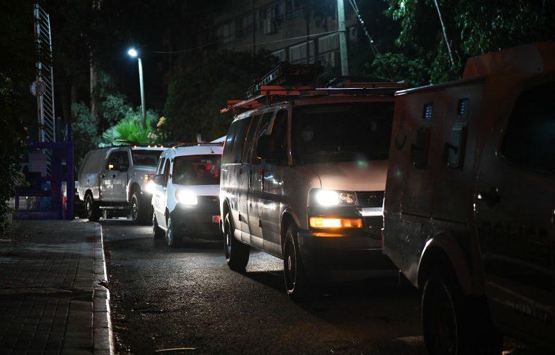 המעצרים שבוצעו הלילה. צילום: דוברות המשטרה