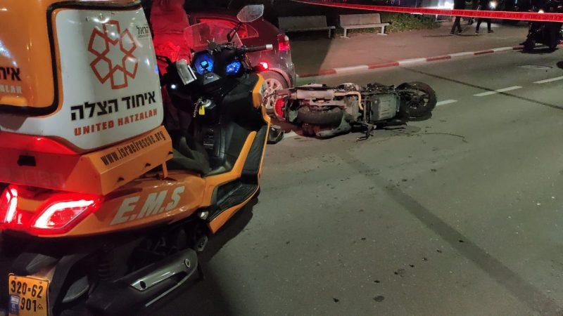 אופנוע - איחוד הצלה